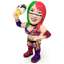 16dソフビコレクション 「WWE ASUKA」The Empress Mask Ver.